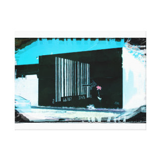 Beyond My Barcode Canvas Print