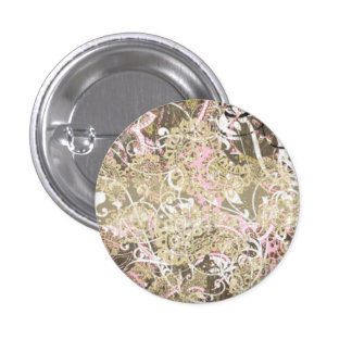 Beyond Paisley 1 Inch Round Button