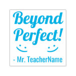 """[ Thumbnail: """"Beyond Perfect!"""" Grading Rubber Stamp ]"""