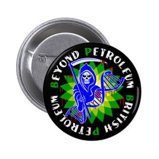 beyond petroleum british petroleum pinback button