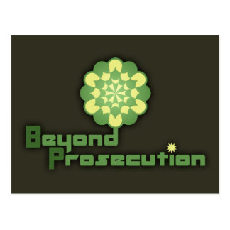 Beyond Prosecution Postcard
