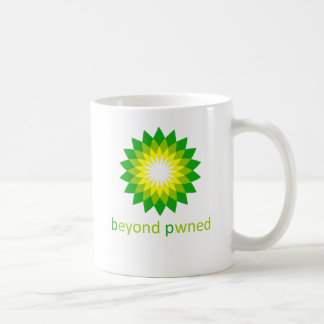 beyond pwned coffee mug