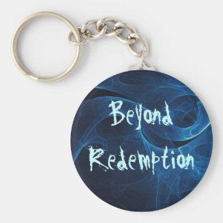 Beyond Redemption Basic Round Button Keychain