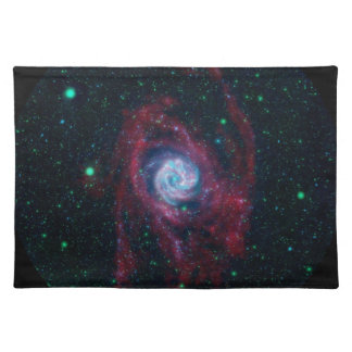 Beyond the Border of a Galaxy Placemat