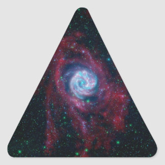 Beyond the Border of a Galaxy Triangle Sticker
