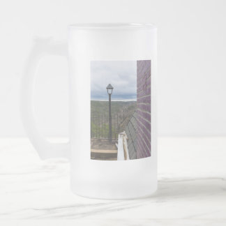 Beyond The Crescent Frosted Glass Beer Mug