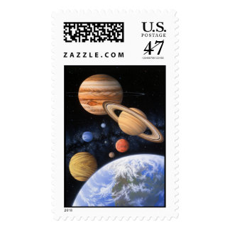 Beyond the Home Planet Postage