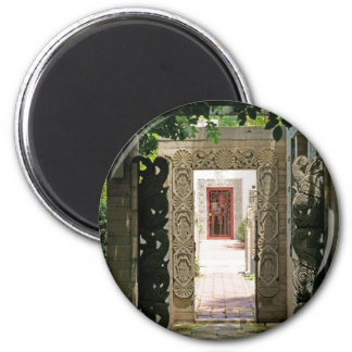 Beyond the Leaves 2 Inch Round Magnet