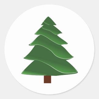Beyond the Pine Classic Round Sticker