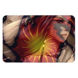 Beyond the realms of fantasy rectangular photo magnet