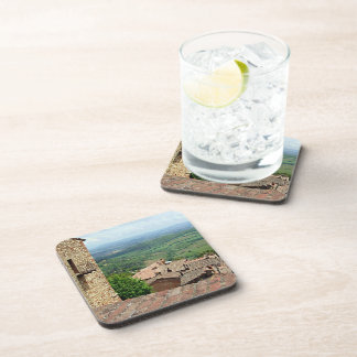 Beyond the Rooftops 1 Beverage Coaster