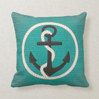 Beyond The Sea Lyrics Anchor Pillow