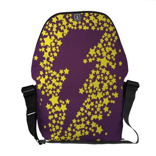 Beyond the stars (Lightning) (Colored) Commuter Bag