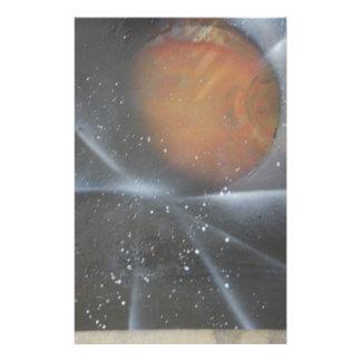 Beyond the Stars Stationery Design