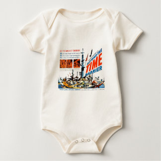 Beyond the Time Barrier Baby Bodysuit
