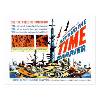 Beyond the Time Barrier Postcard