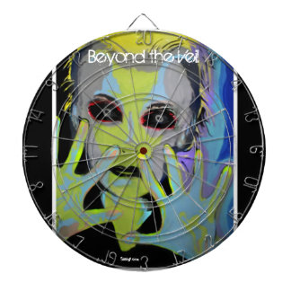 'Beyond the Veil' (ghost) Dartboard