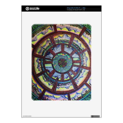 Beyond the Wheel of Time Electronics Skins iPad Decals