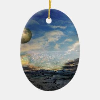Beyond Tomorrow Ceramic Ornament