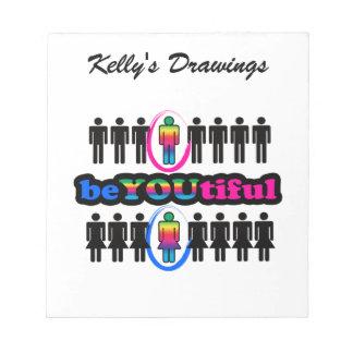 BeYOUtiful And Gay Notepad
