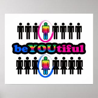 BeYOUtiful y gay Póster
