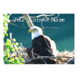 BEYR Bald Eagle Yukon River Large Business Card