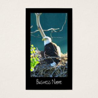 BEYR Eagle calvo el río Yukón Tarjetas De Visita