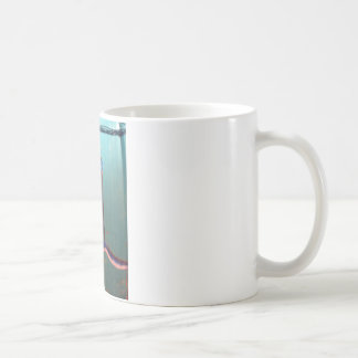 Bezier Contour Column Fractalized and  Recursed Classic White Coffee Mug