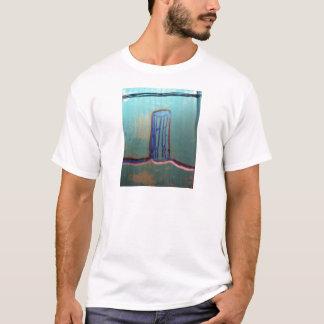 Bezier Contour Column Fractalized and  Recursed T-Shirt