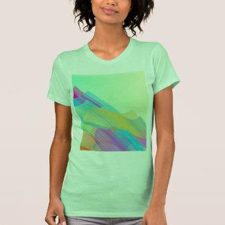 Bezier en colores pastel medio camisetas