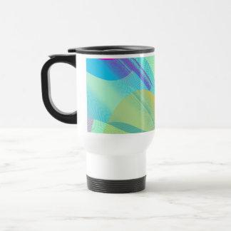 Bezier en colores pastel medio tazas