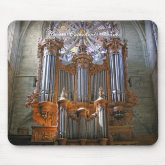 Beziers Cathedral mousepad