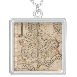 Beziers France Silver Plated Necklace
