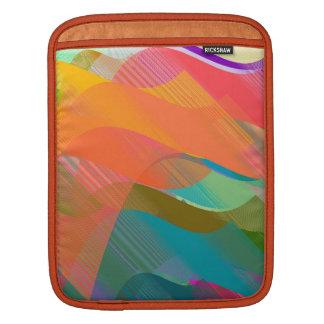 Beziers ocean iPad sleeve