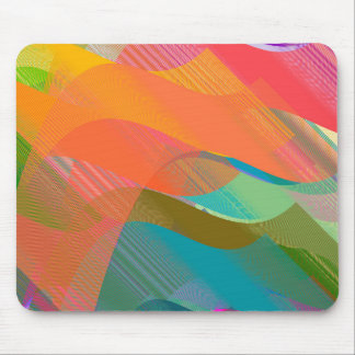 Beziers ocean mouse pad