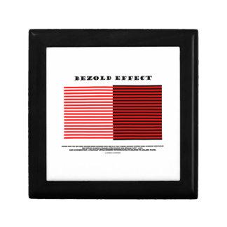 Bezold Effect (Optical Illusion) Gift Box