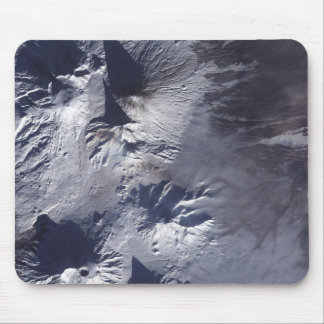 Bezymianny Volcano exhibits a modest plume Mouse Pad
