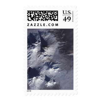Bezymianny Volcano exhibits a modest plume Postage Stamps