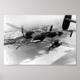 Bf110 Zerstoerer - Battle of Britain 1940 Poster