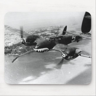 Bf110's Patrol the English Coast - August 1940 Mouse Pad