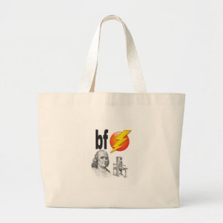 bf art large tote bag