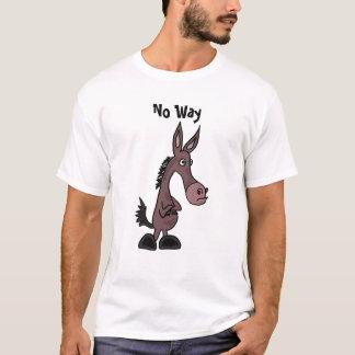 BF- No Way Mule T-shirt