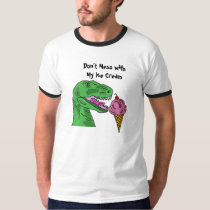 BF- T-Rex with Ice Cream T-shirt