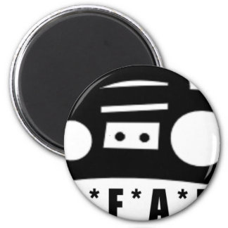 BFAB ~ Born from a boombox 2 Inch Round Magnet