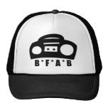 BFAB ~ Born from a boombox Hats