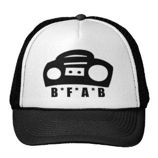 BFAB ~ Born from a boombox Trucker Hat