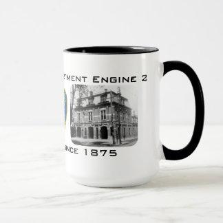 """BFD Engine 2 """"Saving lives since 1875"""" Mug"""