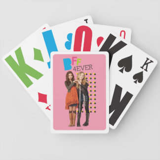 BFF 4Ever Bicycle Playing Cards