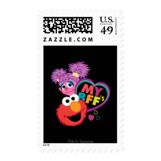 BFF Abby and Elmo Stamps