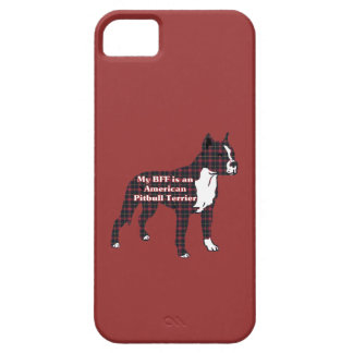 BFF American Pitbull Terrier iPhone SE/5/5s Case